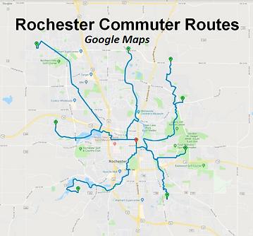 WBR Commuter Routes Google - Map Button.