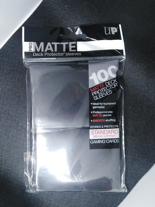 Ultra-Pro Standard Matte sleeves 100pk- Black