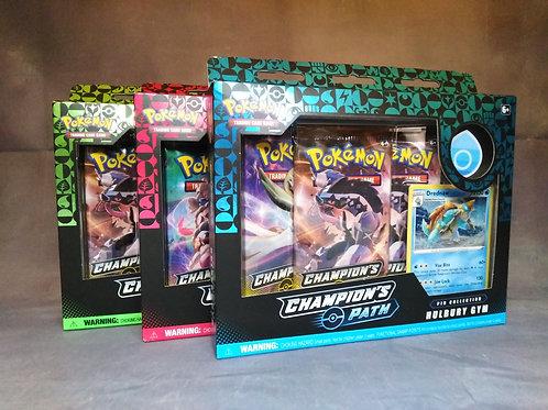 Pokemon Champions 3.5 Gym Pin badge Collectors Box