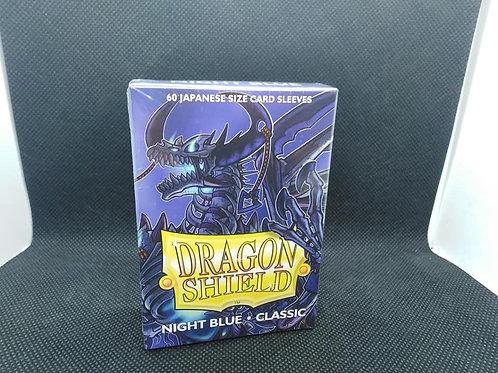 Arcane Timen Dragon shield: Mini size sleeves Night Blue (60 per pack)