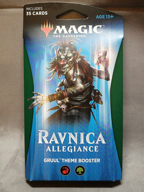 Magic The Gathering : Ravnica Themed booster