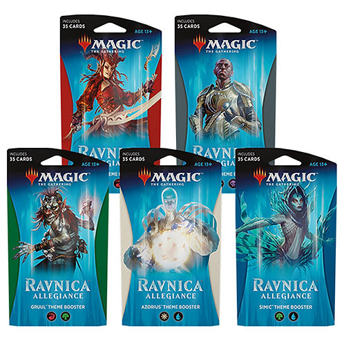 Magic The Gathering : Ravnica Allegiance themed boosters