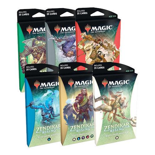 Magic The Gathering : Zendikar Rising Theme Boosters