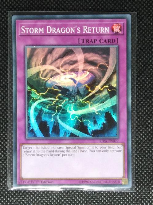 Storm Dragon's Return (SR)
