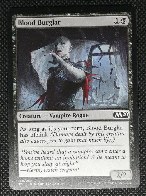 Blood Burglar