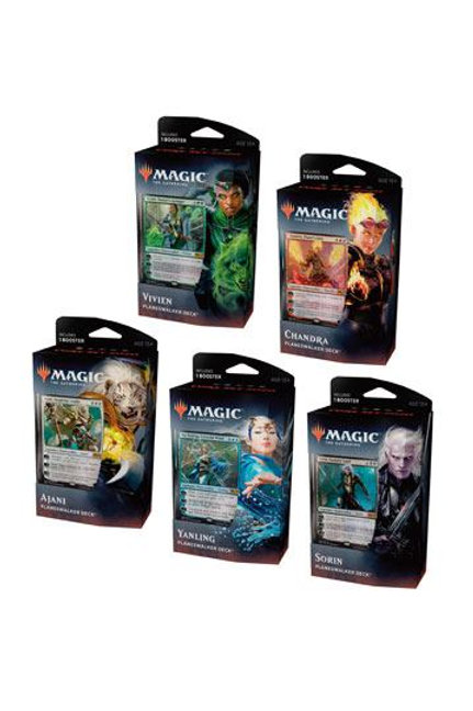 SET of 5 Magic core 2020 Planeswalker Deck
