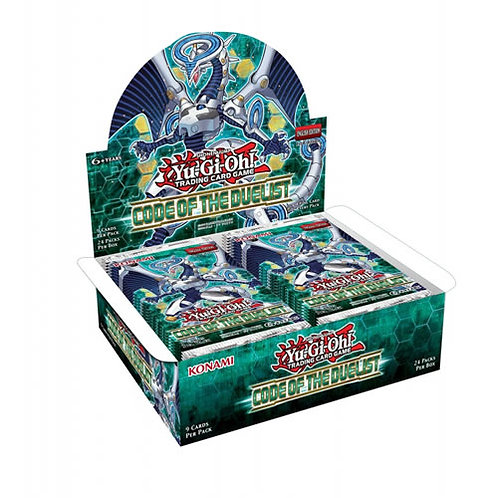 Yu-Gi-Oh : Code of duelist Booster display box (24)