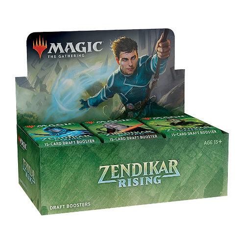 Magic The Gathering : Zendikar Rising Draft Boosters