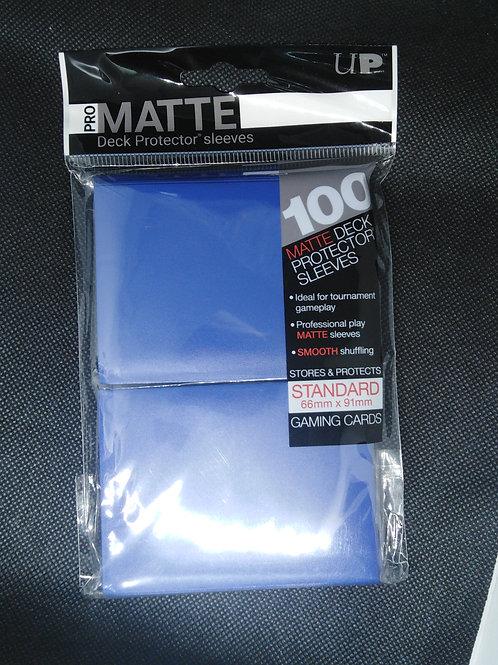 Ultra-Pro Standard Matte sleeves 100 pack-Blue