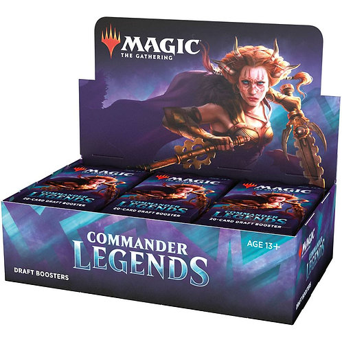 Magic The Gathering : Commander Legends Draft Display box (24)