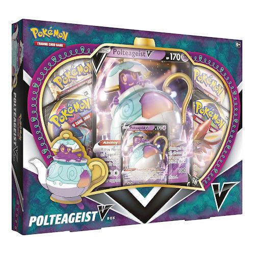 Pokemon Sword & Shield : Ploteageist V Collectors Box