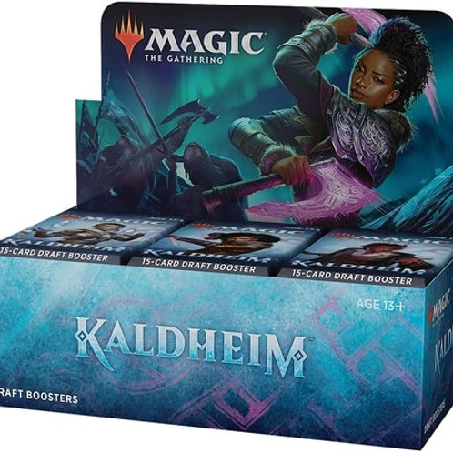 Magic The Gathering : Kaldheim Booster Draft (36packs)
