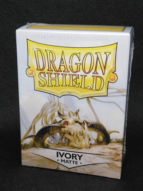 Dragon shield Matte Standard Ivory 100 pack
