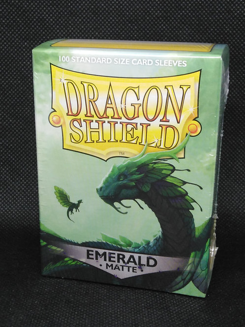 Dragon shield Matte Standard Emerald 100 pack