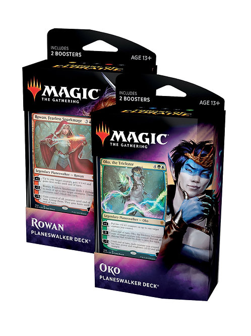 Magic Thrones of Eldraine : Dual set Rowan & Oko