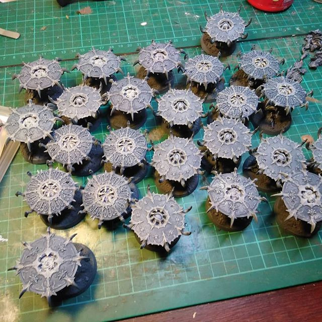 Tzaangor Skyfire discs(post shading)