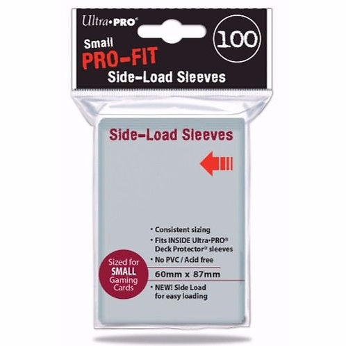 Ultra Pro- Small Pro-Fit Side load Sleeves