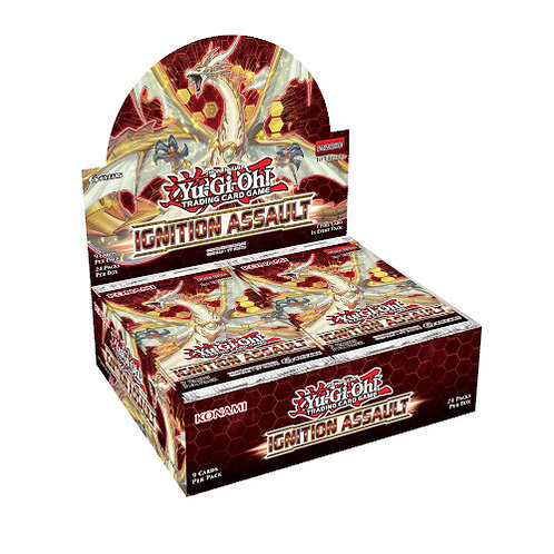 Yu-Gi-Oh! - Ignition Assault Booster Box (24packs)