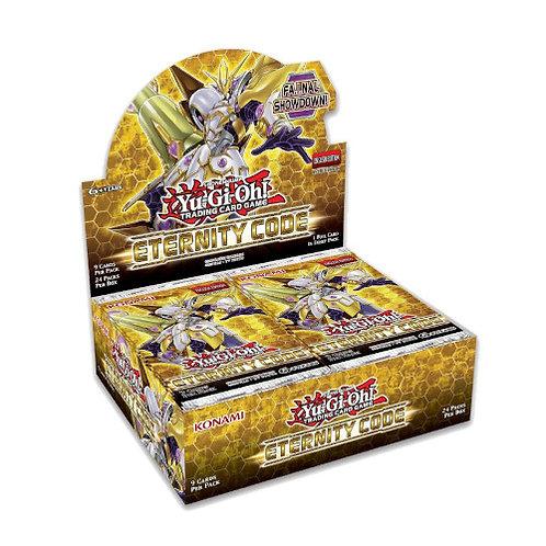 Yu-Gi-Oh : Eternity code Booster display box (24Pack)