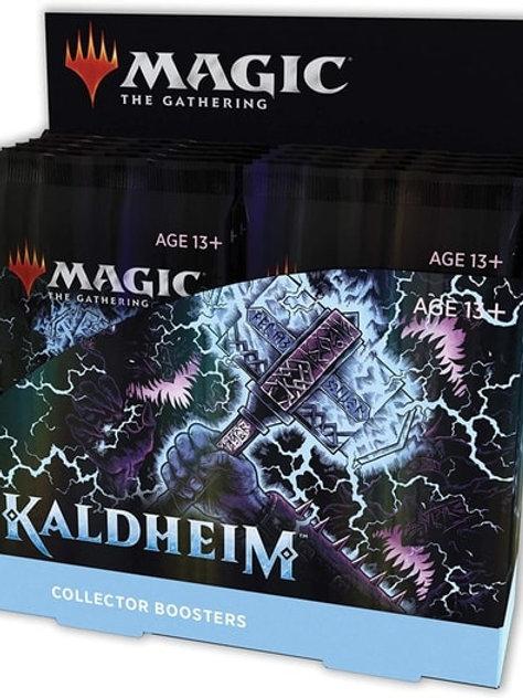 Magic The Gathering : Kaldheim Collectors Booster Box (12)