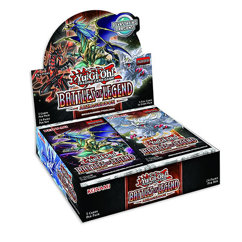 Yu-Gi-Oh! -Battles of Legend: Armageddon Booster box(24)