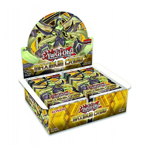 Yu-gi-Oh Maximum Crisis Booster Box (24pack)