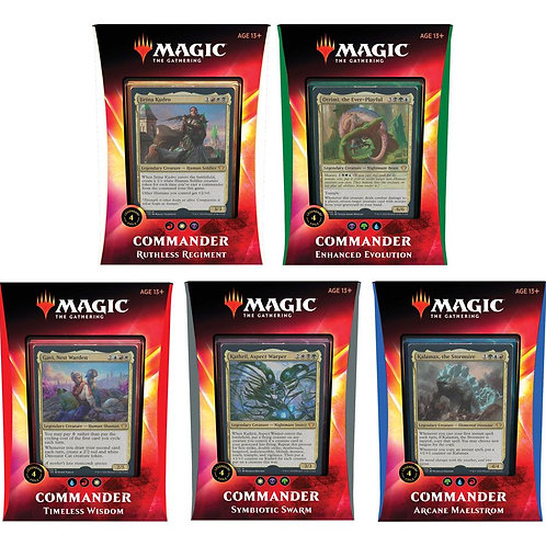 Magic the Gathering Ikoria: Lair of Behemoths Commander deck