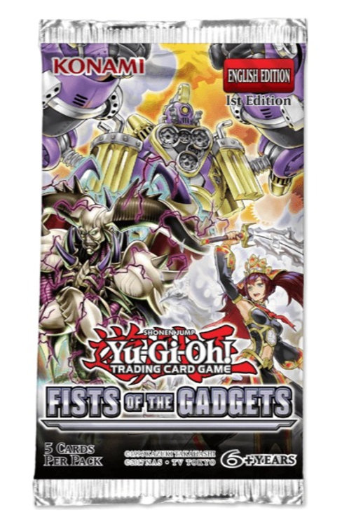Yu-Gi-Oh : Booster Pack: Fists Of Gadgets