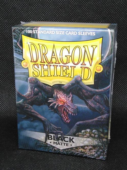 Dragon shield Matte Standard black 100 pack