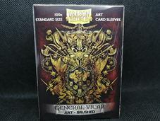 Dragon shield Art General vicar Brushed