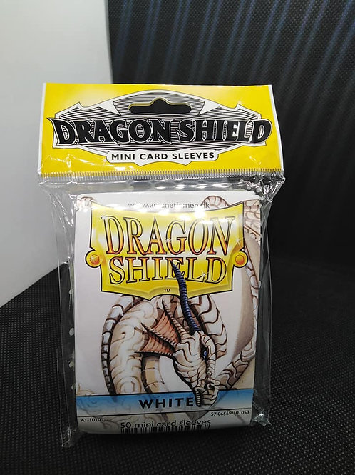 Arcane Timen Dragon shield: Mini size sleeves white(50pk)