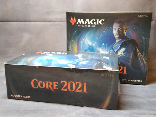 Draft deal : Core Set 2021 Display Booster box+ bundle