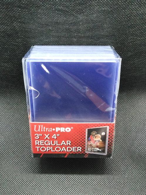 """Ultra-Pro Toploaders : 3""""x4"""" (63.5mm x 88.9mm) 25pk"""