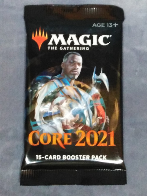 Magic the Gathering core set: 2021 : Boosters