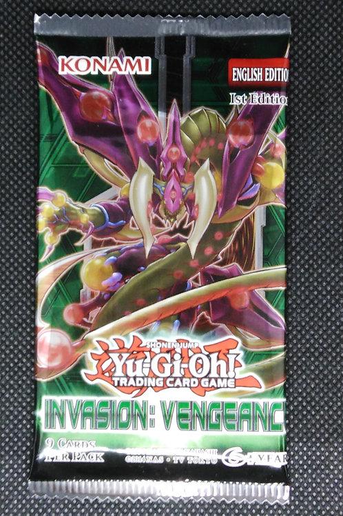 Yu-Gi-Oh! -Invasion: Vengeance Booster packs