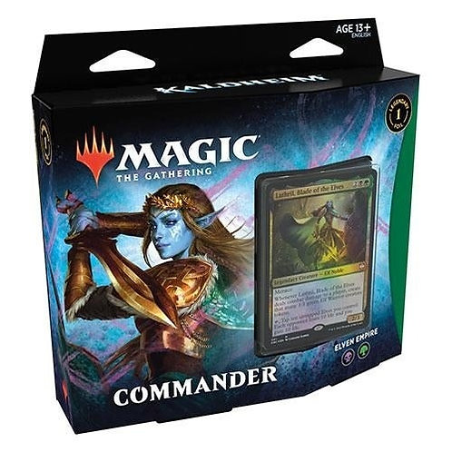 Magic The Gathering : Kaldheim Commander Deck Set of 2