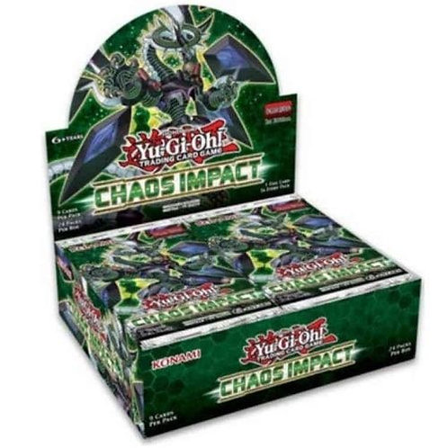 Yu-Gi-Oh! Chaos Impact Booster Display (24packs)