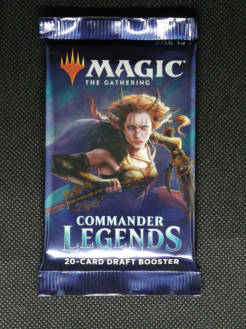 Magic The Gathering : Commander Legends: Draft Booster