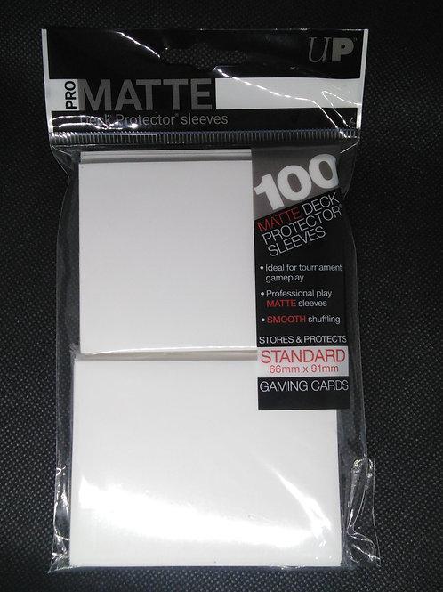 Ultra-Pro Standard Matte sleeves 100pack-White