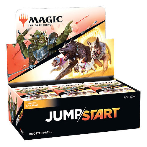 Magic The gathering : Jump start Booster box (24 packs)