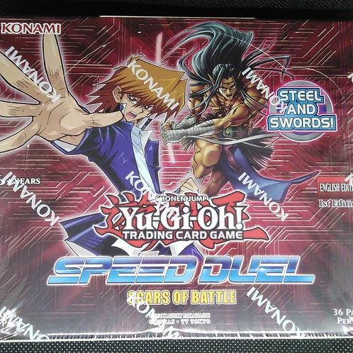 Yu-Gi-oh's Speed Duels :Scars of Battle : Display Box (36packs)