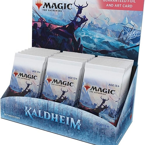 Magic The Gathering : Kaldheim  Set Booster Box (30packs)
