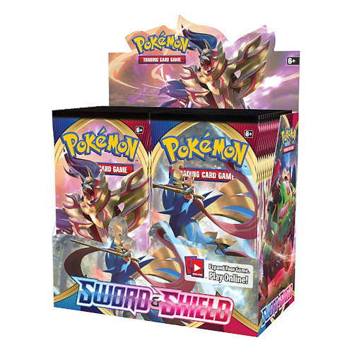 Pokemon: Sword & Shield Booster Box(36 pack)