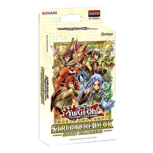 Yu-Gi-Oh : Spirit Charmers Structure Deck
