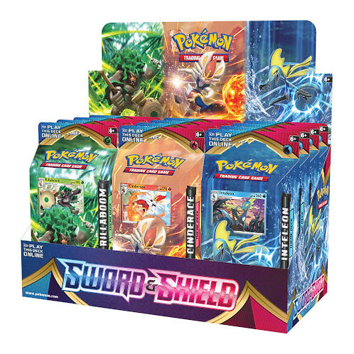 Pokemon Theme Decks : Sword & shield