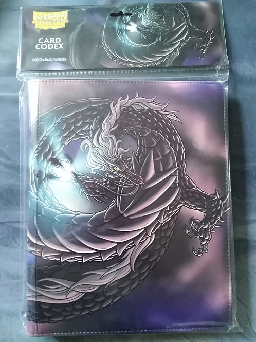 "Arcane Tinmen Card Codex 360 Portfolio - ""Tao Dong"" Black"
