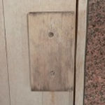 木材の除菌洗浄「クリンボンW」