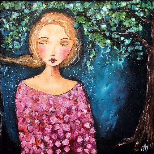 The Wishing tree -Fine art Reproduction