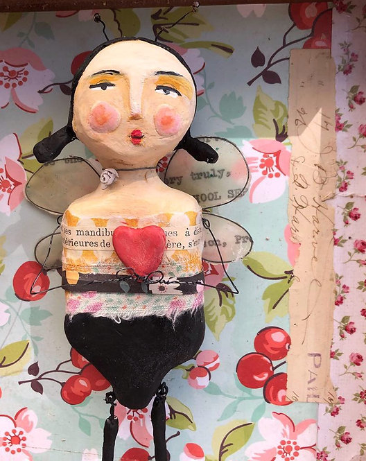 Honey bee sculpture