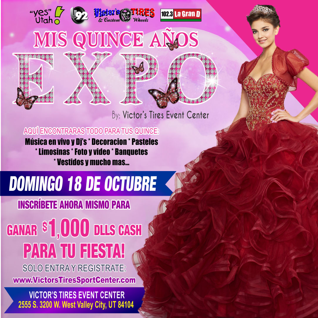 Salon De Fiestas | West Valley City| Utah | Victor\'s Salon de fiestas